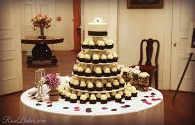 wedding cupcake tower behance