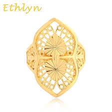 bridal gold ring ethlyn free size women bridal engagement wedding ring