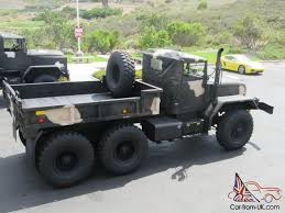 m818 military 5 ton shorty 6x6 drop side cargo bed monster truck