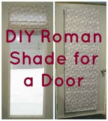 Diy Patio Doors Shade Outside Mount On Door Would Be Great For The
