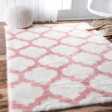 Pink And White Striped Rug Pink And White Rug Rugs Decoration