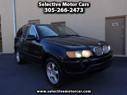 2001 bmw x5 for sale used 2001 bmw x5 for sale in miami fl 33144 selective motor cars