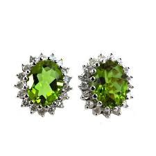 changing earrings zultanite colour changing gem with diamonds 18ct white gold
