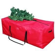 upright tree storage bag basics rolling artificial tree storage bag