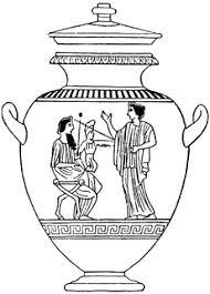 Greek Vase Design Greek Vase Clipart Etc