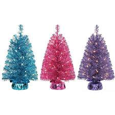 buy time pre lit 2 39 noble fir mini artificial