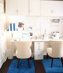 excellent home sewing room ideas display impressive twin wooden