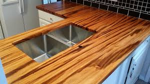 hardwood countertops are the latest trend in custom kitchens