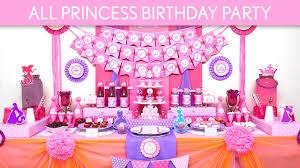 princess birthday party all princess birthday party ideas all princess b134