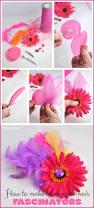 homemade hair fascinators craft diy super easy and fun party