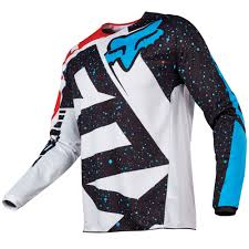 dc motocross gear fox clothing 180 youth nirv motocross jersey red white demon