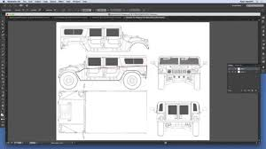how to do floor plans how to do a vehicle wrap project in illustrator youtube