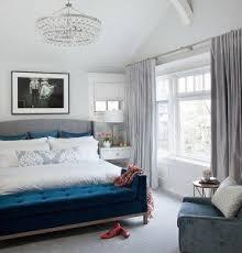 Blue Bed Frame Wingback Bed Frame Foter