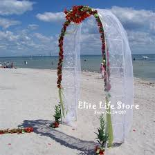 wedding arch no flowers best quality wedding decoration metal arch in white height 240cm