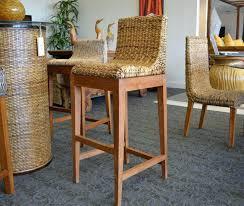 Outdoor Swivel Bar Stool Bar Stool Abaca Barstool Wicker Barstool Rattan Abaca Furniture