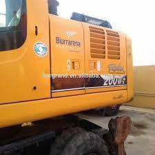 used hyundai wheel excavator used hyundai wheel excavator