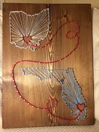 ohio florida state string art order from kiwistrings on etsy