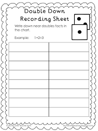 doubles addition facts worksheets best 25 doubles addition ideas on doubles facts math