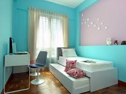 Warm Blue Color Simple Purple And Blue Girls Bedroom Ideas Designs And Colors