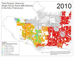 Property Lines Map Map Charts Growth Of Million Dollar Homes In Vancouver