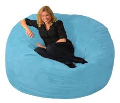 furniture contemporary light blue bean bag chairs decor for your