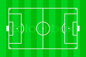 soccer field layout stock photo colourbox