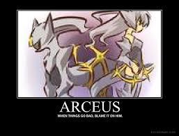 Arceus Meme - arceus by cryptidhunter41 on deviantart
