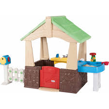 backyard discovery aspen wooden cedar playhouse walmart com