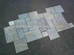 echo outdoor split slate flooring large modular pattern buy