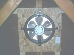 gable attic fan installation broan attic fan kenfallinartist com