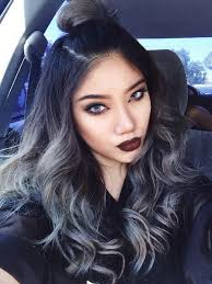 ombre grey hair tutorial for black hair foto video