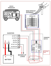 midnite solar transfer switch how to connect 3 x 6 awg wires