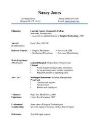 Med Tech Resume Sample by Strikingly Inpiration Surgical Tech Resume Sample 4 Cover Letter