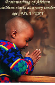 African Child Meme - brainwashing of african children starts at a very tender age