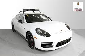 Porsche Panamera All White - new 2016 porsche panamera gts north america exclusive edition