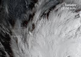 maps hurricane maria u0027s path across puerto rico the new york times