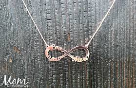 Customized Pendants Onecklace Personalized Love You More Infinity Necklace Gradgifts17