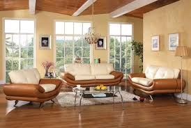 Fabric And Leather Sofa Sets Accent Colors For Tan Walls White Rug Cream Sofa Set Cream Fabric