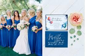 blue wedding cobalt blue wedding color inspiration wedding colors