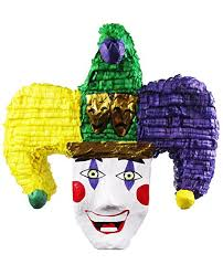 mardi gras joker pinatas mardi gras joker pinata carnival party