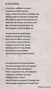 wedding quotes robert burns a fond poem by robert burns poem