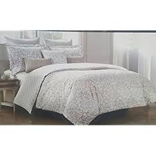 amazon com nicole miller 3pc king or full queen duvet cover set