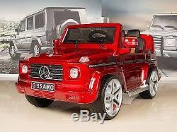 mercedes g55 ride on mercedes g55 amg 12v ride on car battery power wheels