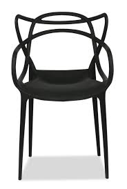 Kartell Masters Black Replica Designer Chair Furniture  Home - Masters furniture