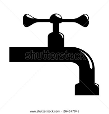 sketch tap water on white background stock vector 188953706
