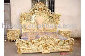 Antique Bed Sets European Classical Antique Wooden Luxury Bedroom Set King Size