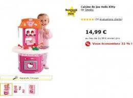 cuisine hello smoby promo mini cuisine hello de smoby a seulement 14 99 euros
