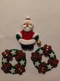 fimo handmade modelling clay embellishments fma2 2 gingerbread