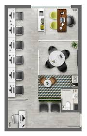 Design Floorplan by Neorama Floor Plan Office Smart Lima E Silva Grundriss