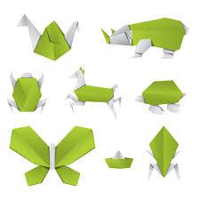 Origami Illustrator - free vector origami animals freevectors net